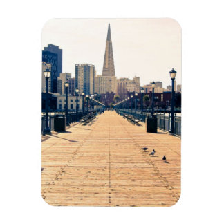 All roads lead to pyramid. rectangular photo magnet
