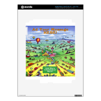 All Roads Lead to San Antonio Texas iPad 3 Decal
