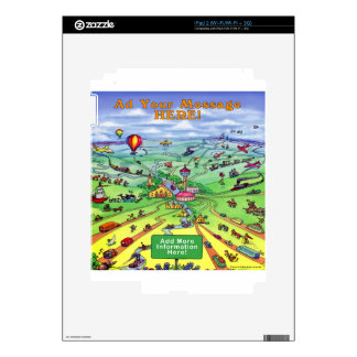 All Roads Lead to San Antonio Texas Skin For The iPad 2