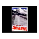 All Roads Lead To Switzerland Post Card