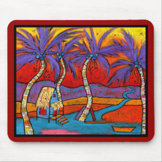 """All Roads Lead to the Beach Mouse Pad - 9.25"""" x 7."""