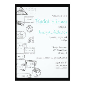 All Roads Led Me to You - Bridal Shower Invitation