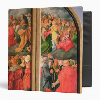 All Saints Day altarpiece 3 Ring Binder
