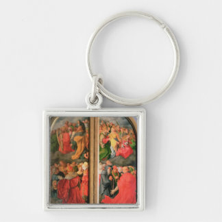 All Saints Day altarpiece Keychain