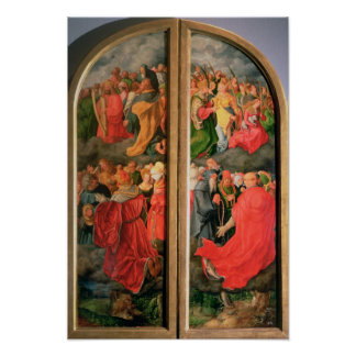All Saints Day altarpiece Poster