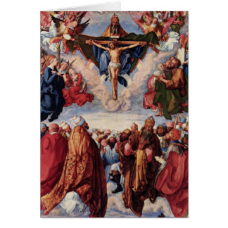 All saints day card