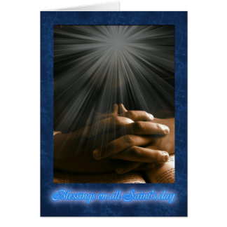 All Saint's Day Card