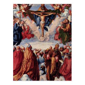 All saints day postcard