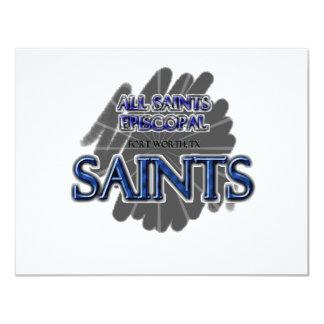 All Saints Episcopal SAINTS - Fort Worth, TX Card