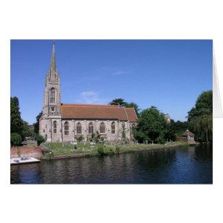 All Saints, Marlow, Buckinghamshire Card