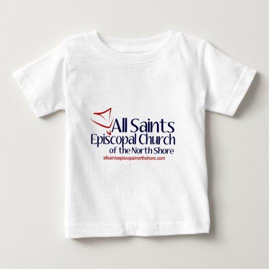 All Saints Vertical Logo Baby T-Shirt