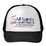 All Saints Vertical Logo Hats