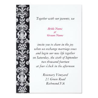 all season wedding invitation