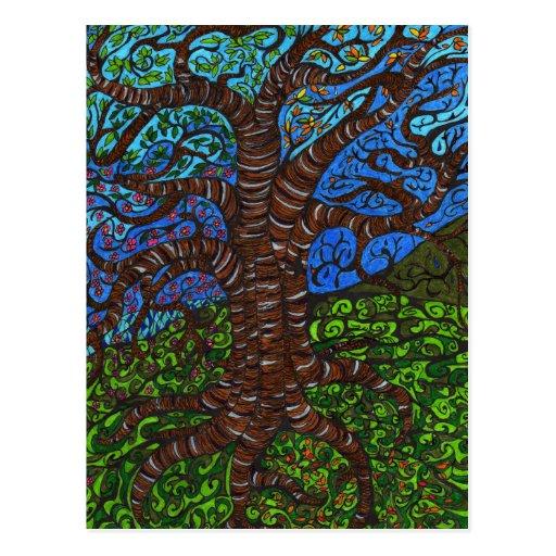 All Seasons Tree Postcards