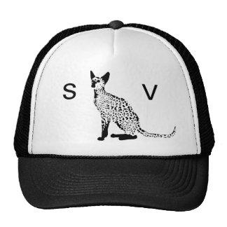ALL SEEING CAT TRUCKER HAT