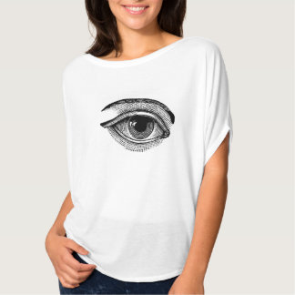All Seeing Eye Bella Circle Top Tees
