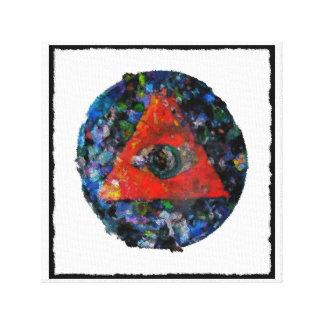 All-Seeing Eye Canvas Print