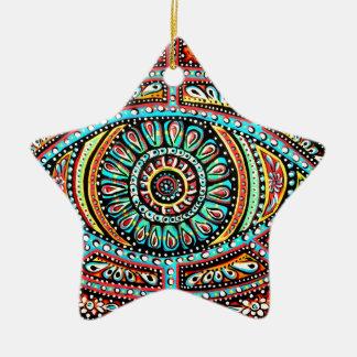 All Seeing Eye Ceramic Ornament