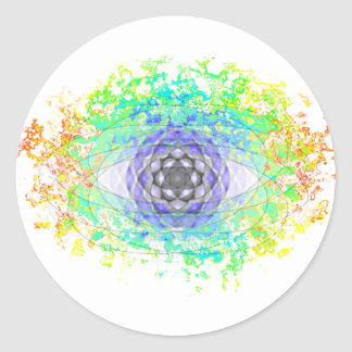 All-Seeing Eye Classic Round Sticker