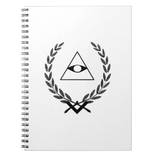 All Seeing Eye crest symbolism F&AM Note Book