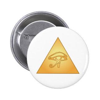 All Seeing Eye / Eye of Horus: Pinback Button