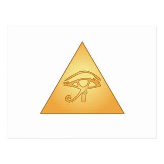 All Seeing Eye / Eye of Horus: Postcard