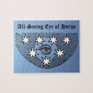 All-Seeing Eye Jigsaw Puzzle