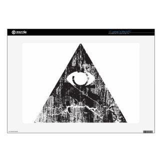 All Seeing Eye Laptop Decal