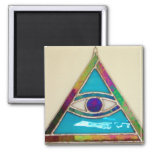 All Seeing Eye Magnet