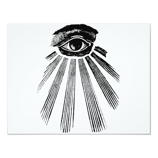 All Seeing Eye Mason Card