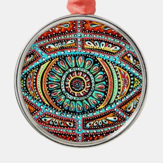 All Seeing Eye Metal Ornament