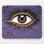 All seeing eye mouse pad