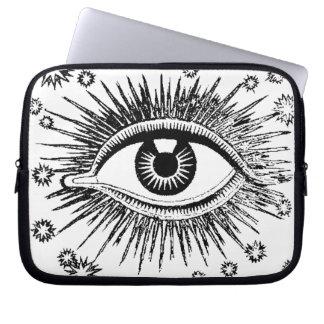 All Seeing Eye Mystic Eyeball Laptop Sleeve