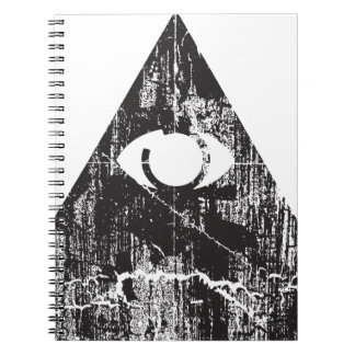 All Seeing Eye Note Book