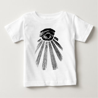 All Seeing Eye NWO Illuminati New World Order Baby T-Shirt