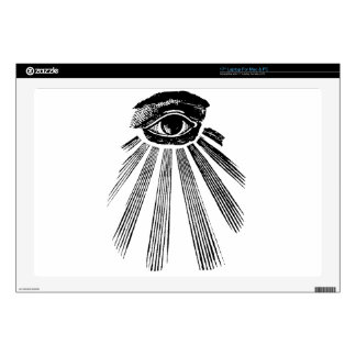 All Seeing Eye NWO Illuminati New World Order Decal For Laptop
