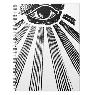 All Seeing Eye NWO Illuminati New World Order Note Books