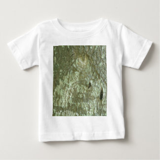 """All Seeing Eye"" Oak Tree Eye Trees Bark Camo Baby T-Shirt"
