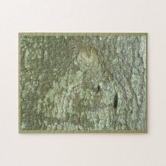 """All Seeing Eye"" Oak Tree Eye Trees Bark Camo Jigsaw Puzzle"