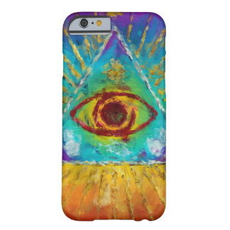 All Seeing Eye Of God - abstract sketchy Art Barely There iPhone 6 Case