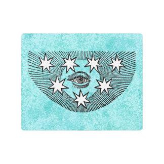 All-Seeing Eye of Horus Metal Print