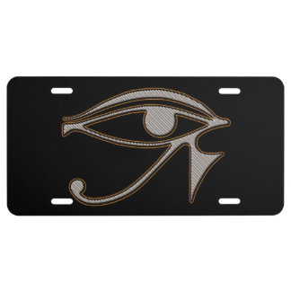 All Seeing Eye Of Ra License Plate Cover