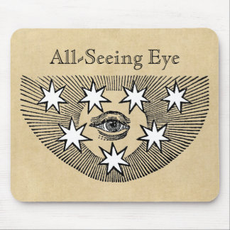 All-Seeing Eye Personalized Mouse Pad