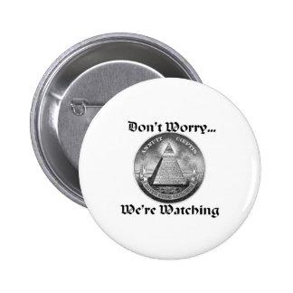 all-seeing-eye pinback button