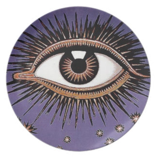All seeing eye plate