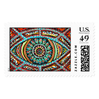 All Seeing Eye Postage