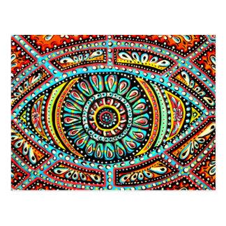 All Seeing Eye Postcard