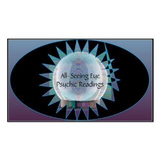 All-Seeing Eye Psychic Reader Business Card