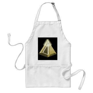 All Seeing Eye Pyramid Apron