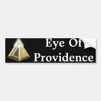 All Seeing Eye Pyramid Bumper Sticker Car Bumper Sticker